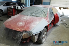 Подготовка к покраске авто