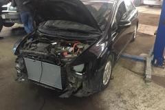Honda Civic замена радиатора
