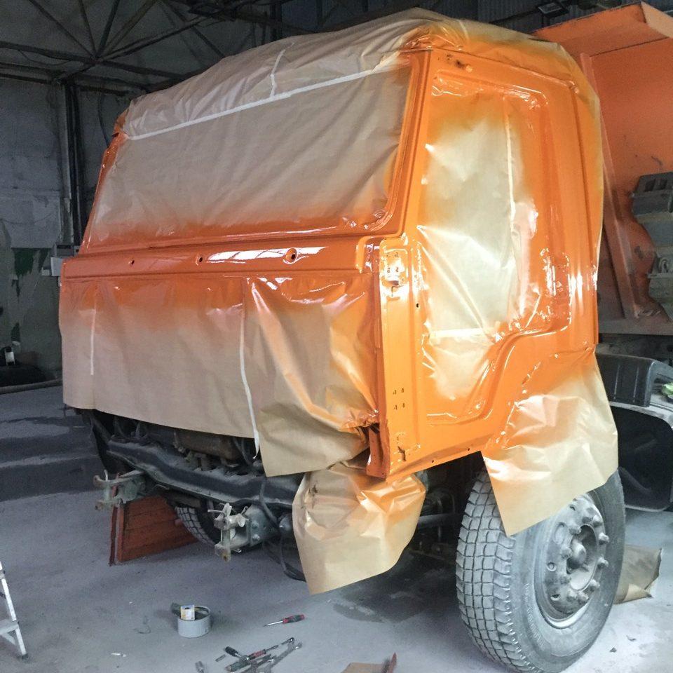 покраска грузовых авто