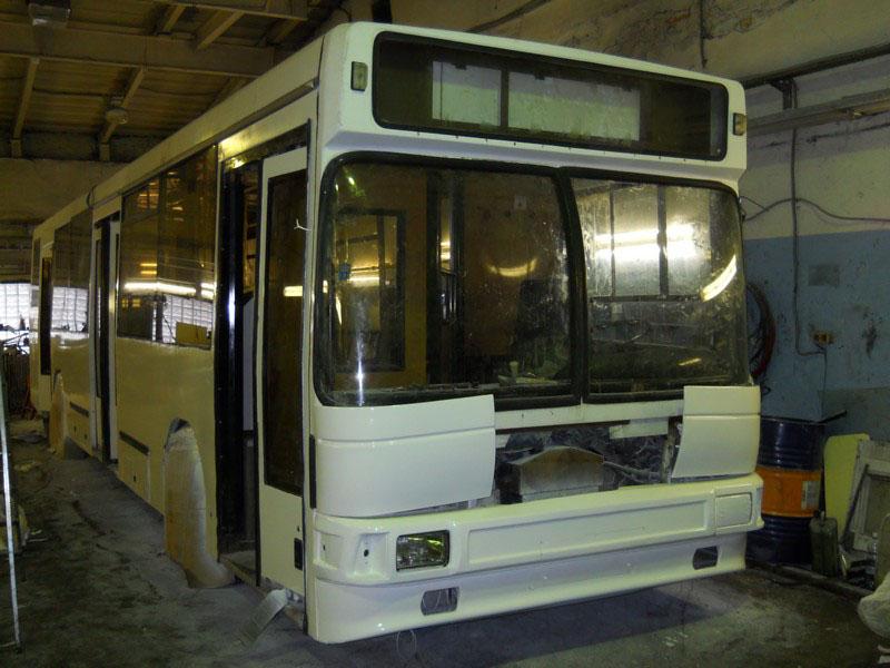 Покраска автобусов в Калининграде