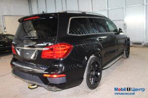 Полировка кузова Mercedes
