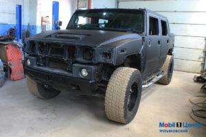 Подготовка к покраске Hummer h2