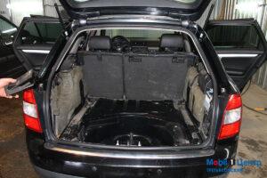 Audi A4 разобранный багажник