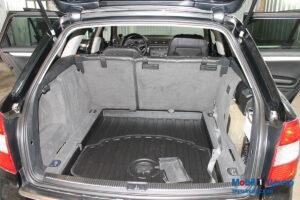 Audi A4 багажник после