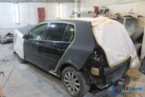 Volkswagen после ДТП