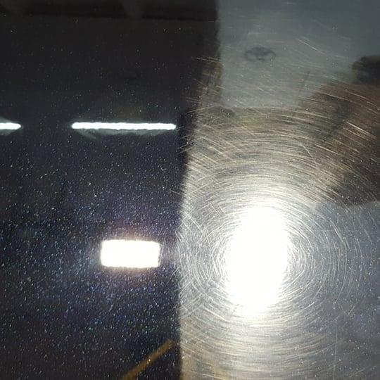 Полировка кузова (до, после)